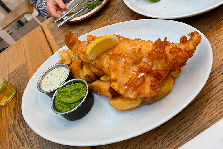 The Fox and Hounds Fish and Chips