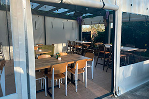 Outdoor Dining Private Hire